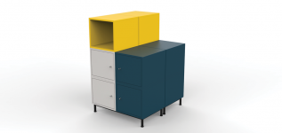 READY///ABLE Eric Schroeder designed storage unit
