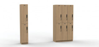 Eric Schroeder designed storage unit
