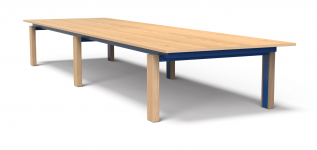 Custom Modern Conference table designed by Eric Schroeder