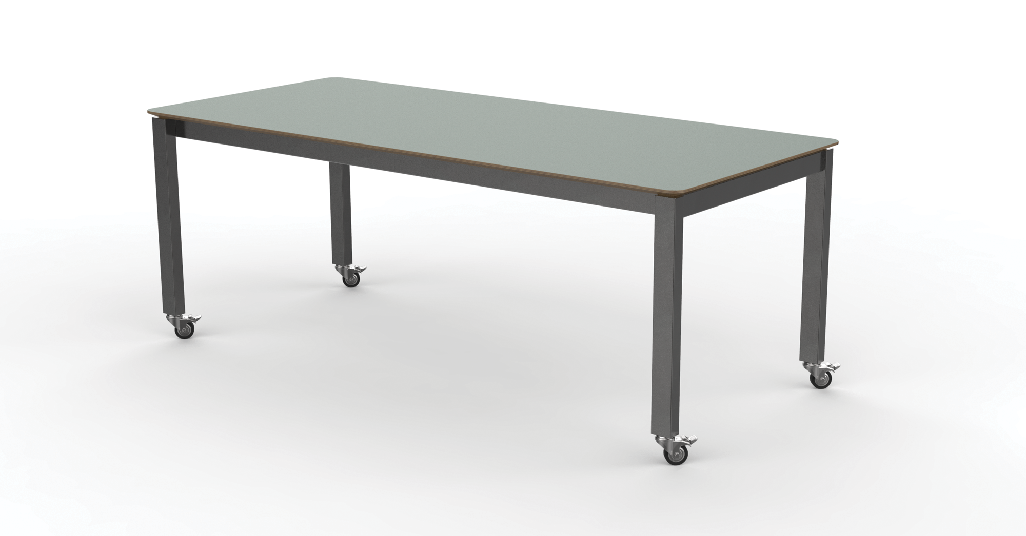 Custom Mobile table designed by Eric Schroeder